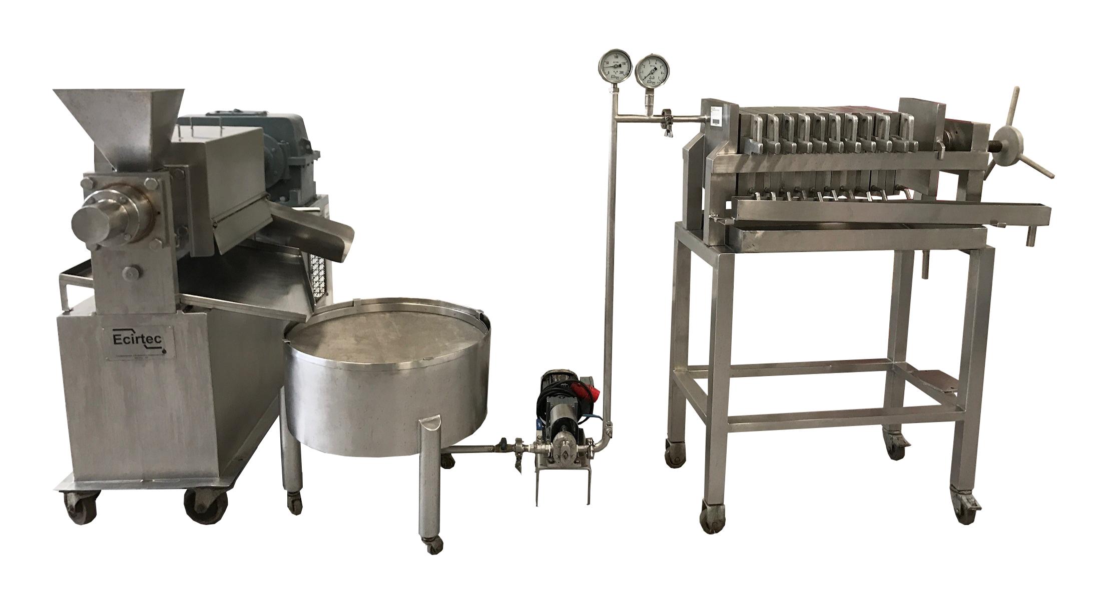 Ecirtec extração de óleos vegetais